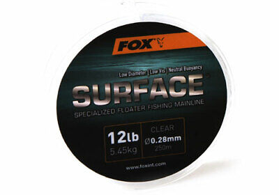 Fox Surface Floater Floating Mainline Monofilament Line - All Breaking Strains • 8.94£