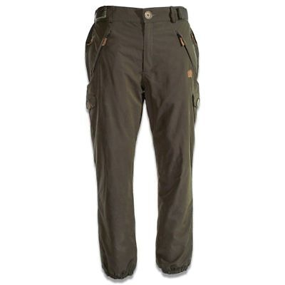 New Nash ZT Caribou Combats Waterproof Fleece Lined Trousers Men's Carp Fishing • 89.99£