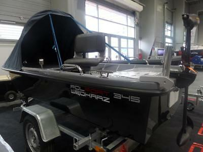 NEW 2019 Rowing Boat Fishing Boat Polport 345 11ft High Quality Motor Dinghy Ful • 1,499£