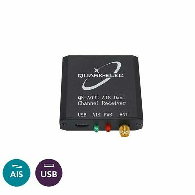Marine AIS Receiver (Quark QK-A022) Dual Channel With USB Output For Boats • 67.25£