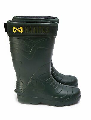 New Navitas Apparel Lite Insulated Boots - All Sizes - Carp Fishing Footwear • 32.93£