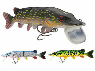 Westin Mike The Pike Hybrid Lure 17cm / 20cm All Colours - Hard Head / Soft Body • 18.78£