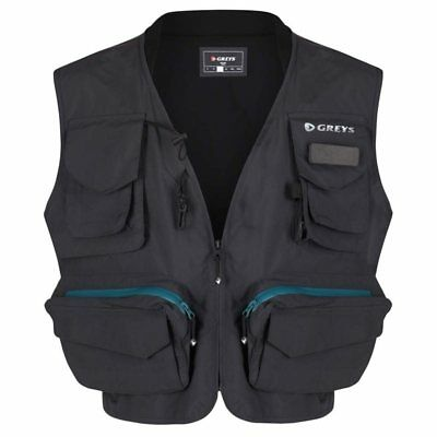 Greys Fly Vest Waist Coat Game Fishing Choose Size M L Xl Xxl • 48.94£