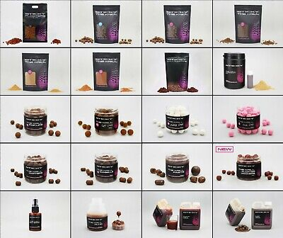 Sticky Baits The Krill Boilies, Pellets, Pop Ups, Wafters, Glug NEW *Full Range* • 10.94£