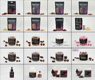 Sticky Baits - THE KRILL Boilies, Pellets, Pop Ups, Wafters, Glug - FULL RANGE • 10.94£