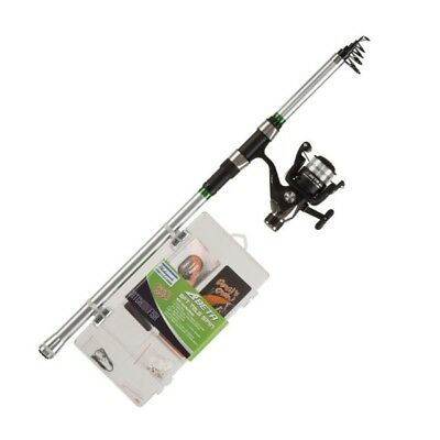Shakespeare Catch More Fish Tele Spin 8ft 20-60g - Predator Fishing - 1423612 • 36.89£