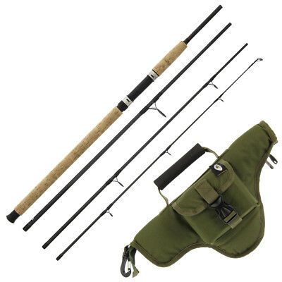 NGT Intrepid 9ft 4pc Carbon Fibre Coarse Fishing Travel Rod + Optional Case • 42.28£