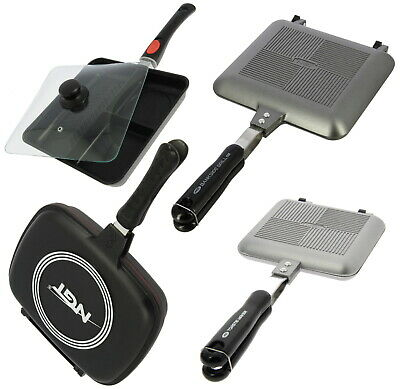 NGT Toastie Maker Frying Pan Outdoor Grill Pan Camping Sandwich Toaster Cooking  • 18.65£