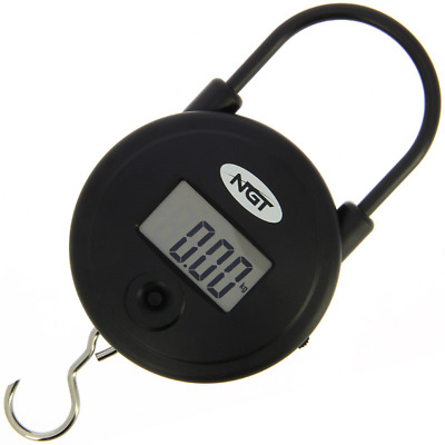NGT Quickfish Scales - Digital Round 55lb / 25Kg Scales Carp Fishing • 12.99£