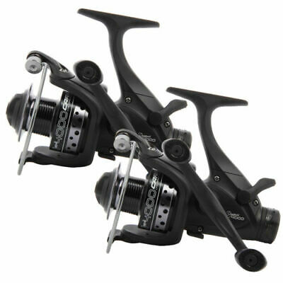 2 X NGT Dynamic 4000 10BB Deluxe Carp Fishing Runner Reels 10BB Twin Handle • 34.99£