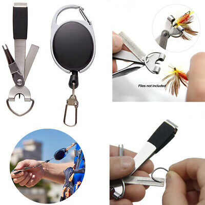 2XUpdated Quick Knot Tool 4 In 1 Fly Fishing Clippers Line Nipper Tying +Zinger • 2.82£