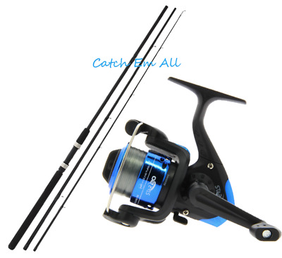 New 10ft Float Fishing Rod And Star 20 Fishing Reel With 8lb Line Coarse Fishing • 24.99£