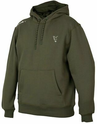 New Fox Collection Green Silver Hoody Hoodie All Sizes - Carp Fishing  • 34.98£