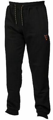 New Fox Collection Black Orange Joggers All Sizes - Carp Fishing Clothing • 29.98£