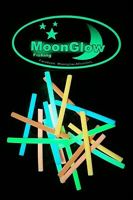 Moonglow Lumi Sticks. The World's Best Attractors. Luminous , Glow ,  Fishing  • 5£