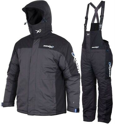 Fox Matrix Winter Suit Jacket And Trousers All Sizes Waterproof Fishing Clothing • 159.99£