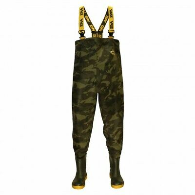 New Vass - Tex 800 E Series Camo Camouflage Chest Wader VC800-70E - Carp Fishing • 89.99£