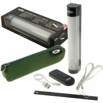 NGT Carp Fishing Bivvy Light With Power Bank Mobile Phone Charger & Case Bag  • 18.95£