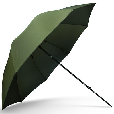 NGT Carp Fishing 50  Green Umbrella Brolly With Taped Seams & Tilt Function • 35.46£