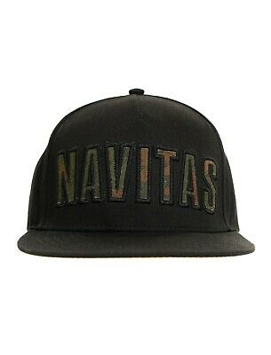 New Navitas Apparel Infil Snapback Black Cap - One Size - Carp Fishing • 19.98£