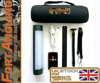 Fort Pro -  Uk Stock 1 X 5000mah Magnetic - Remote Bivvy/camp Light + Adapter • 34.98£