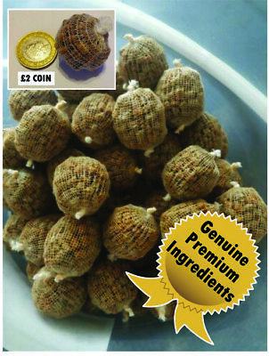 50  Mainline/sticky/dynamite PVA Pre-filled Pellet Balls 14 Flavours Available • 9.50£