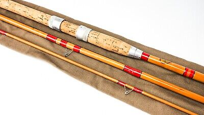 Priory Rods (bournemouth) Wizard 10'6  Whole & Split Cane Coarse Fishing Rod • 139.99£