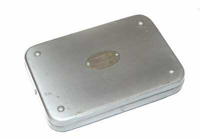 Hardy Aluminium Sea Trout Fly Box With Flies For User Or Collector • 99£
