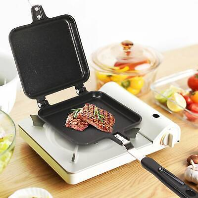 Carp Pro Camping Outdoors Fishing Sandwich Toaster Grill Griddle Fry Pan • 9.95£