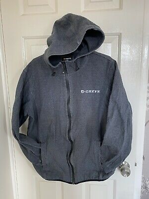 Greys Technical Hoodie - New With No Tag- Size Large - Grey - Thermatex Material • 15£