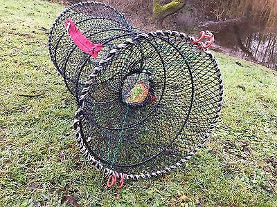 UK Legal Collapsible Crayfish Trap. In Stock, FREE Postage • 9.95£