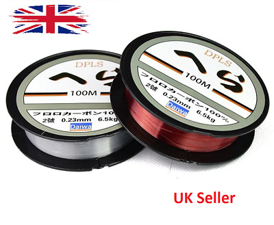 100m Crystal Fishing Line Clear Smooth Monofilament Line Spool Pond Lakes UK • 2.99£