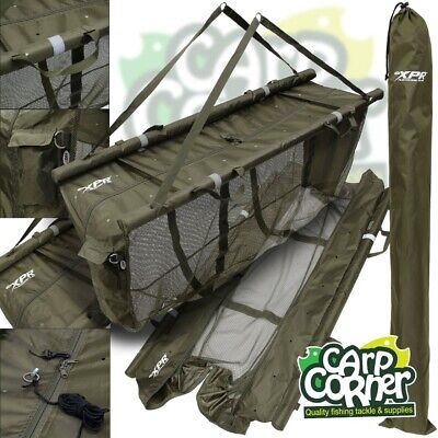 XPR Carp Fishing Floating Floatation Retainer & Weighing Sling Carry Case System • 27.95£