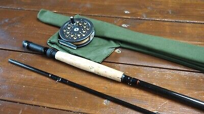 Dam Magic Carbon Fly 9' #6/8 Rod + Shakespeare  Super Condex Reel 3 1/2  Combo • 29.99£