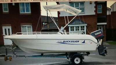 Quicksilver 435 Open Sports Fishing Boat 90 Hp Yamaha Outboard • 9,595£