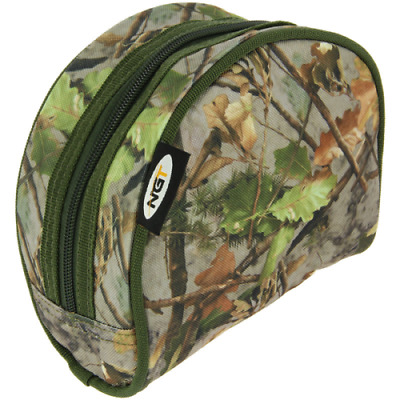 Camo Reel Case For Carp Coarse Fishing Reels Padded Ngt • 6.40£