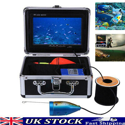 15m Professional Fish Finder Underwater Outdoor Fishing Video Camera Monitor UK • 74.94£