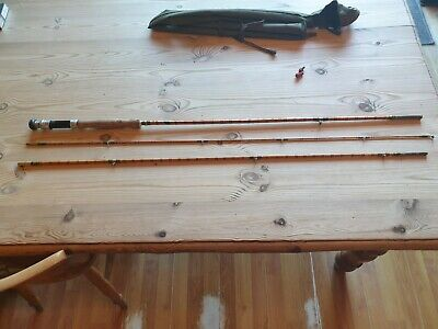9 Foot Split Cane Fly Rod By Forbes Of Edinburgh Exellent Condition  . • 15.40£