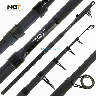 NGT Profiler Telescopic Carbon Fishing Rod 3M 10ft Travel Carp Coarse Rod New • 22.95£