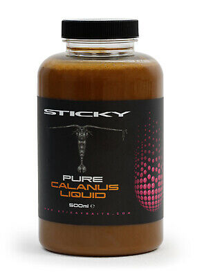 New Sticky Baits Pure Calanus Liquid - 500ml Bottle - Carp Fishing • 14.98£
