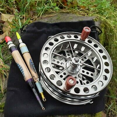 Superb Centrepin Reel 4.5  With Line Guard, Trotting River Float Fishing • 79.99£