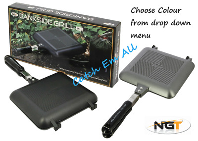 NGT XL Toastie Maker Cooking Camping Fishing Grill Sandwich Bankside Grill • 14.95£