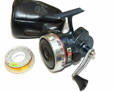 French Crack 400 Closed Face Vintage Fishing Reel Blue Silver Finish + Spool ... • 99£