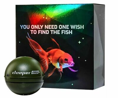 New Deeper Smart Sonar Chirp+ Fishfinder Wifi GPS Echo Sounder - Carp Fishing • 269.95£