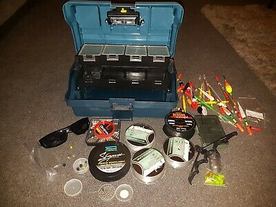 Fishing Tackle Box And Tackle • 30£