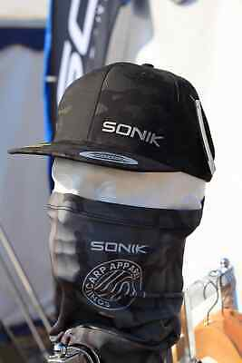 New Sonik Neck Gaiter Face Mask Snood Cover Camo NC0013 - Fishing Accessory  • 10.98£