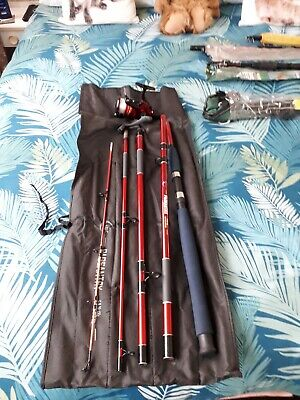 Selection Of Telescopic Rods And Reels Plus 1 5piece 3mtr Carbon Rod • 35£