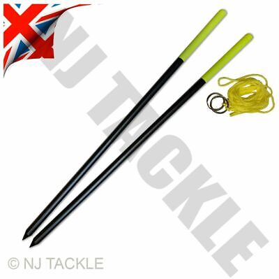 Marker Rod Measuring Distance Sticks For Clipping Up Carp Fishing Tackle • 9.95£