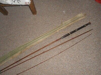 Allcocks Fishing Rod With Bag Made In Redditch Vgc Please See Other Old Items • 15£