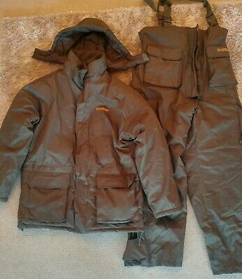 Trakker 3-piece Winter Fishing Suit: Size Large – Great Condition • 60£